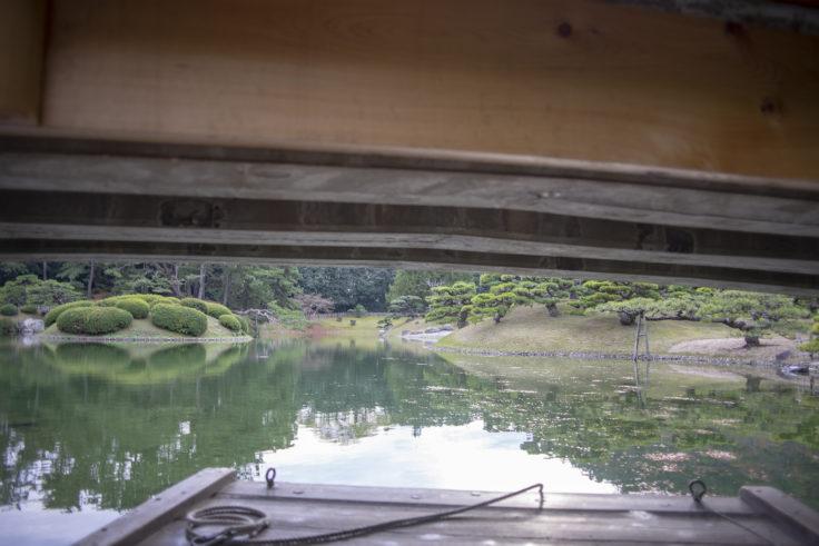 迎春橋を抜ける