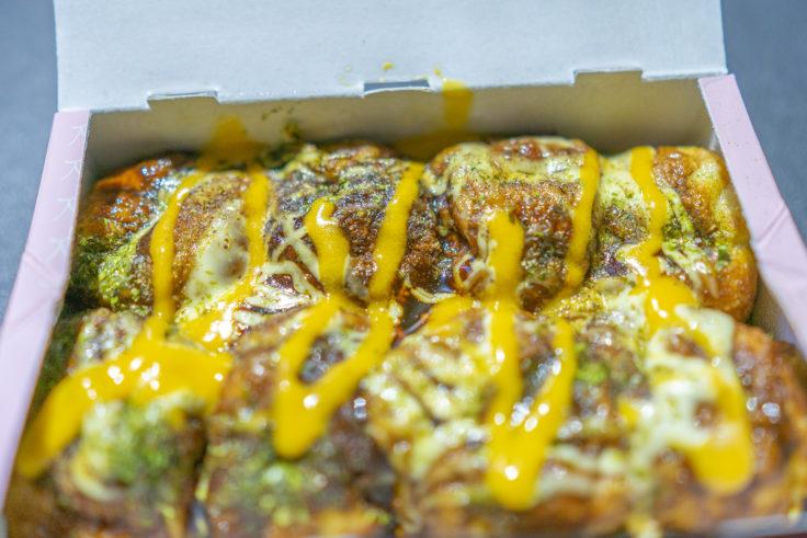 たこ焼き次郎のチーズたこ焼き