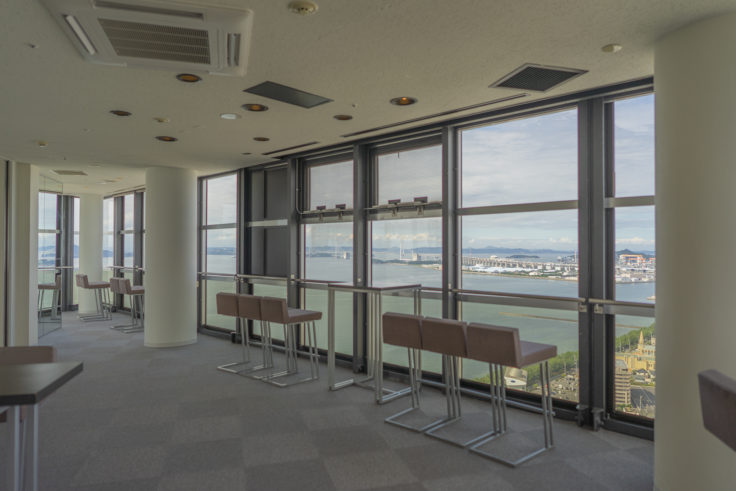 ゴールドタワーソラキン3階展望イベントフロア2