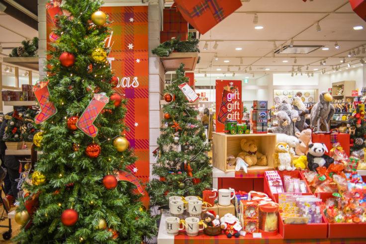 イオンモール徳島のクリスマス