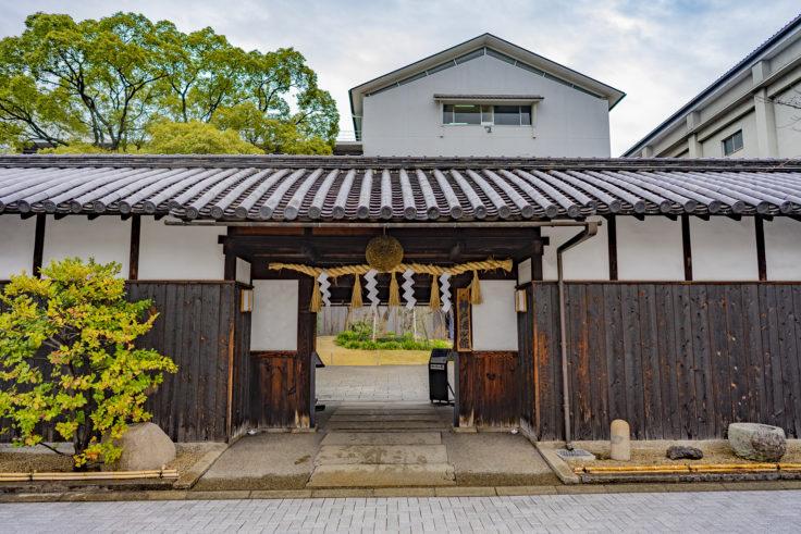 神戸酒心館入り口