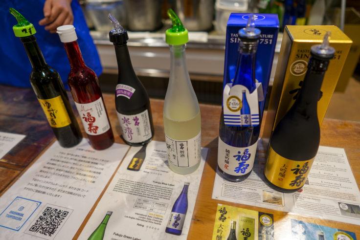 神戸酒心館の利き酒