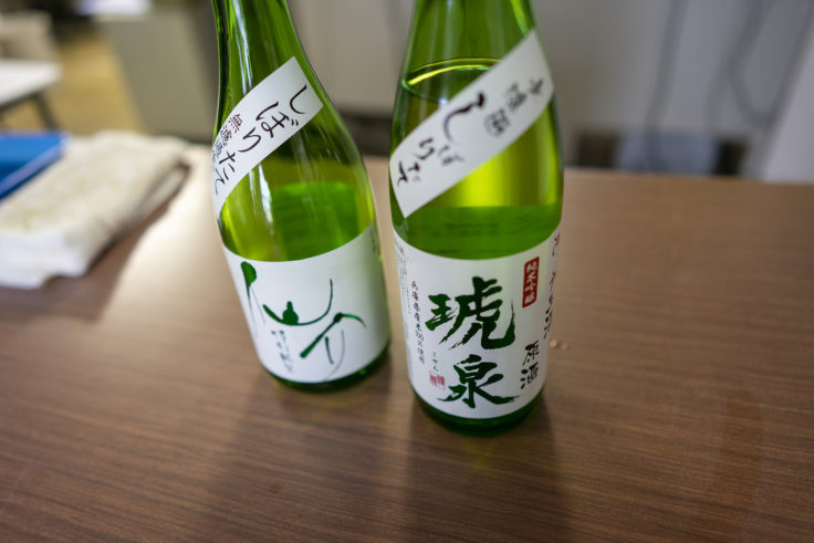 仙介・琥泉(泉酒造株式会社)の利き酒