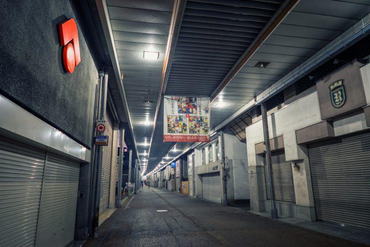 坂出市アーケード商店街