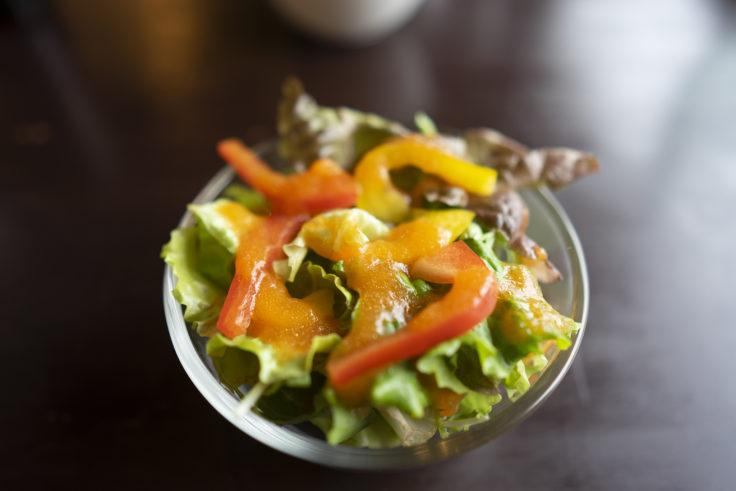 薪たまのサラダ