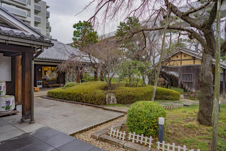 菊正宗酒造記念館の庭