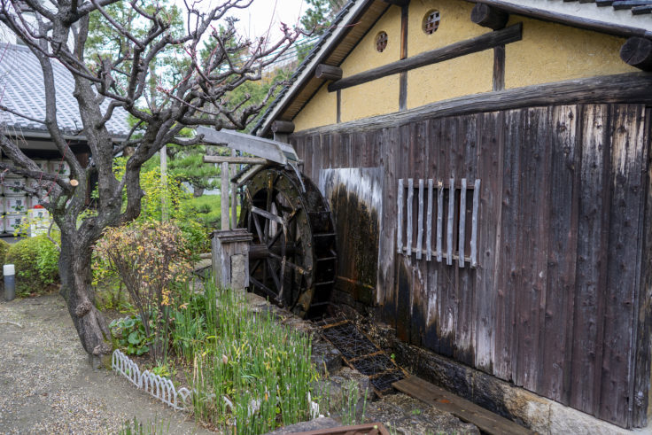 菊正宗酒造記念館の水車