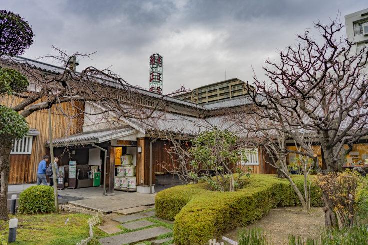 菊正宗酒造記念館の庭2