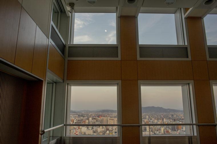 香川県庁21階東側