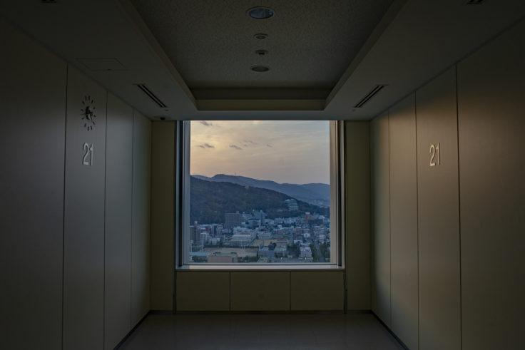 香川県庁21階西側