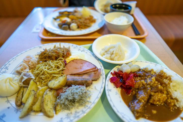 神戸ポートタワーホテル なごみの湯宿朝食バイキング