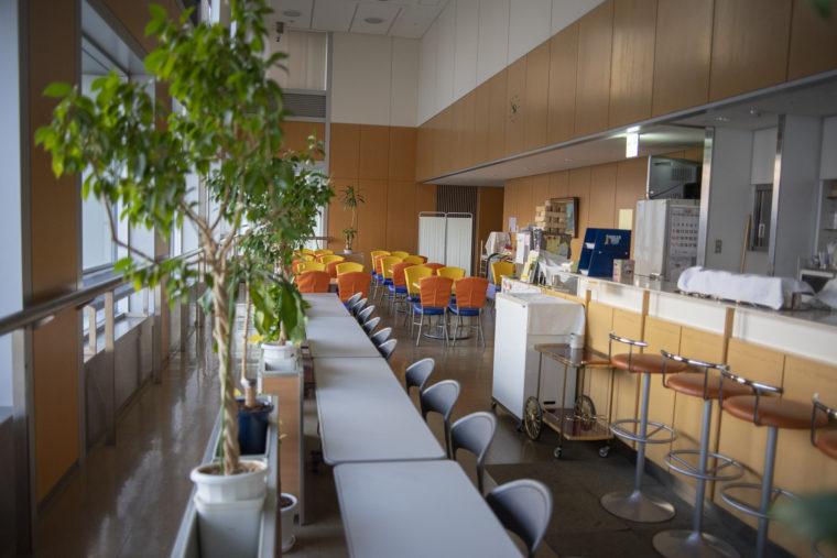香川県庁21階南側喫茶コーナー