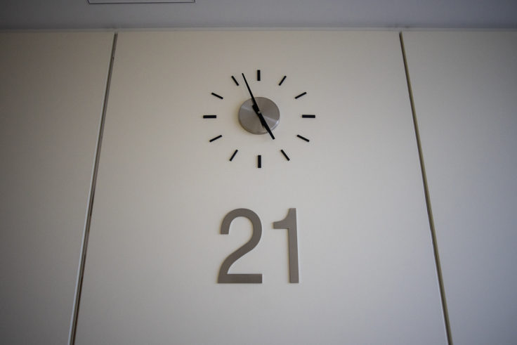 香川県庁21階時計