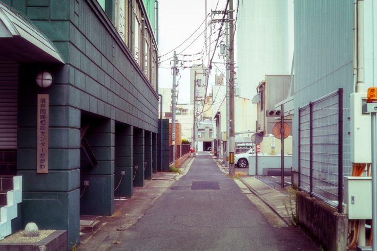高松市丸の内路地裏