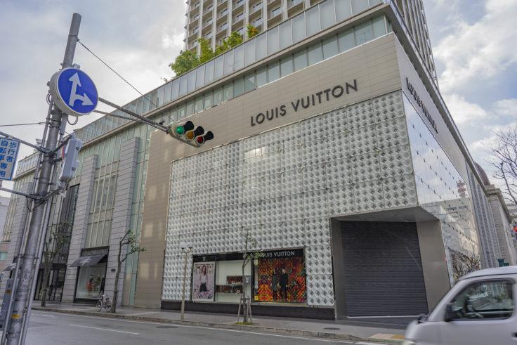 神戸旧居留地25番館ルイ・ヴィトン