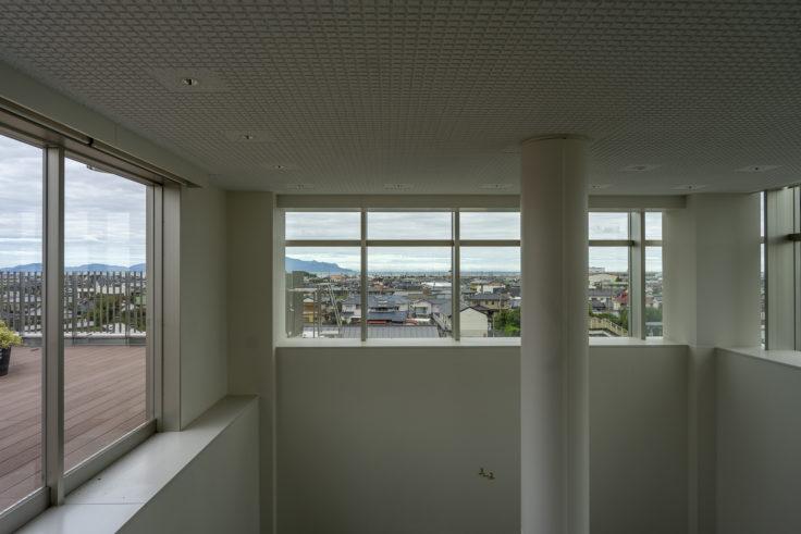 東かがわ市立図書館屋上から見た瀬戸内海4