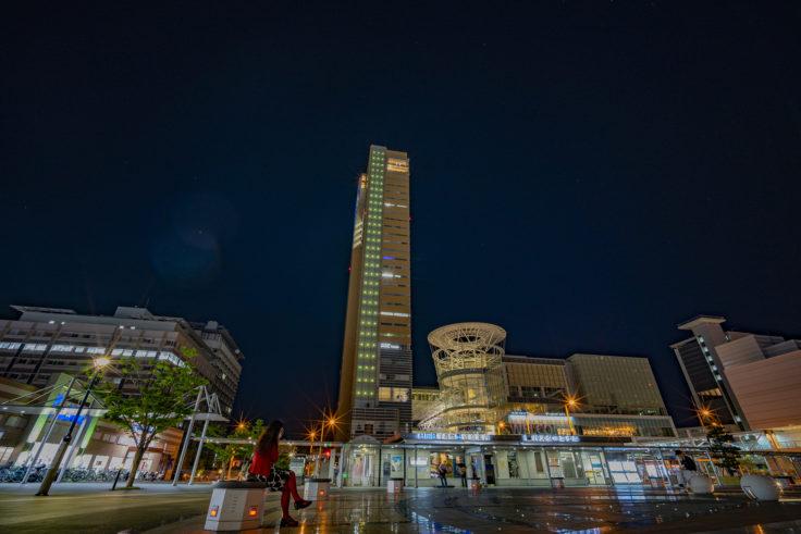 JR高松駅前広場