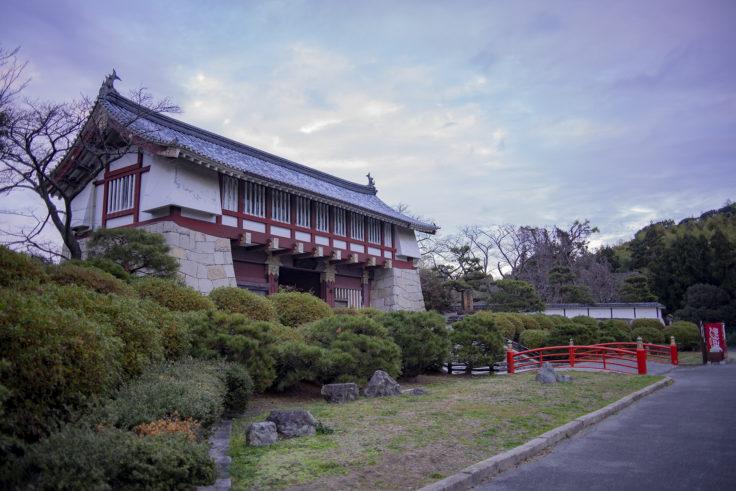 伏見桃山城城門