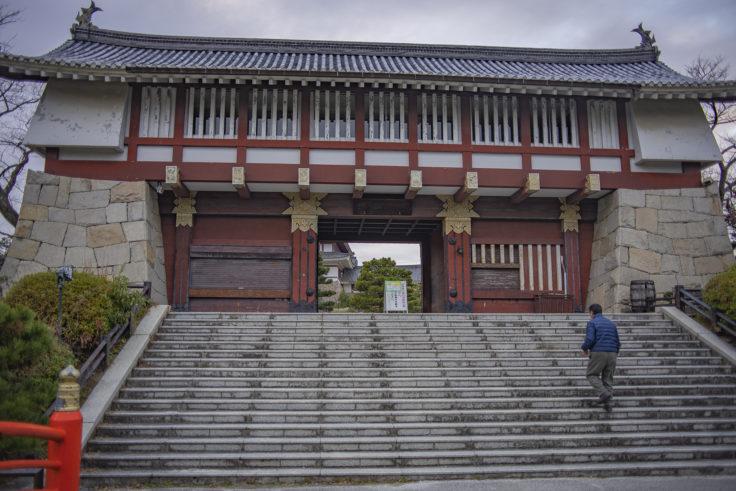 伏見桃山城城門正面