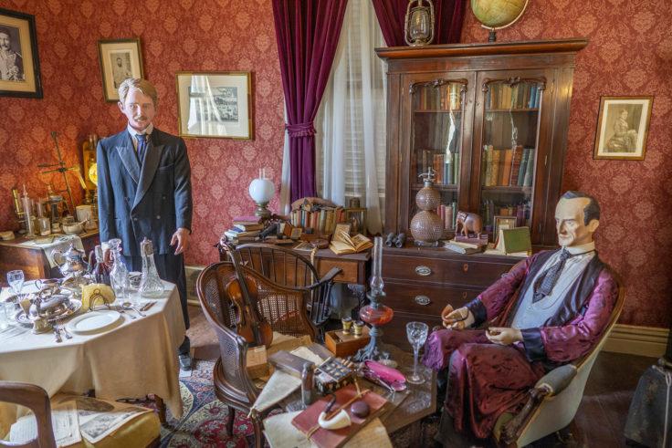 北野異人館英国館2シャーロックホームズの部屋