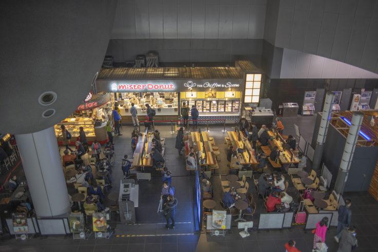 京都駅のミスタードーナツ