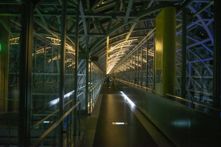 京都駅の空中経路