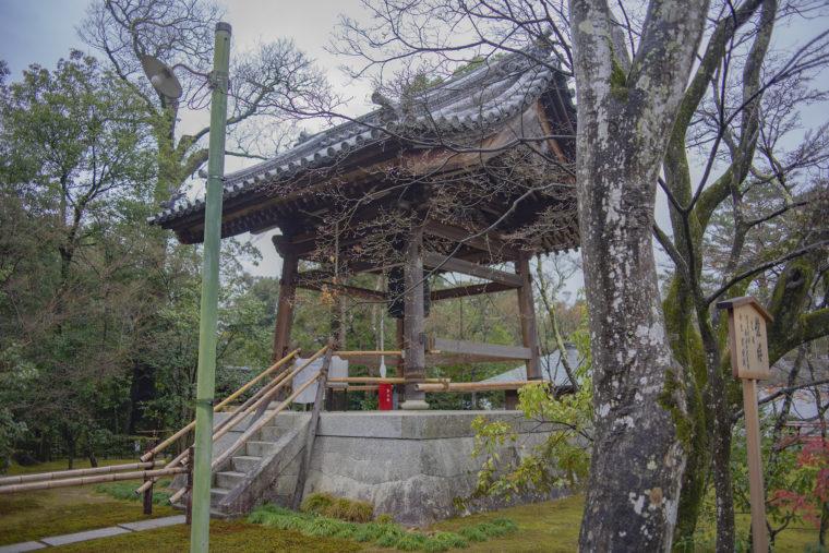 金閣寺鐘楼