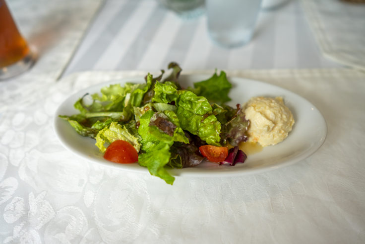 ラ・テラス北野ランチのサラダ