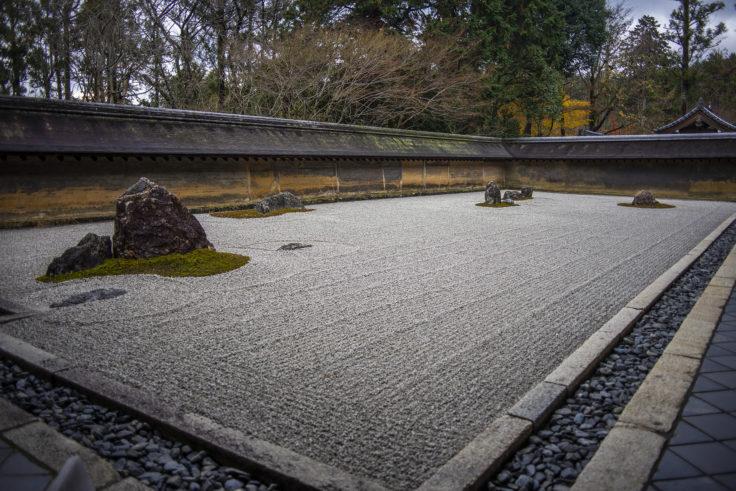 龍安寺の石庭2