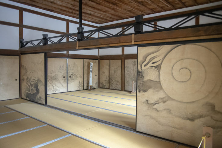 龍安寺の襖絵3