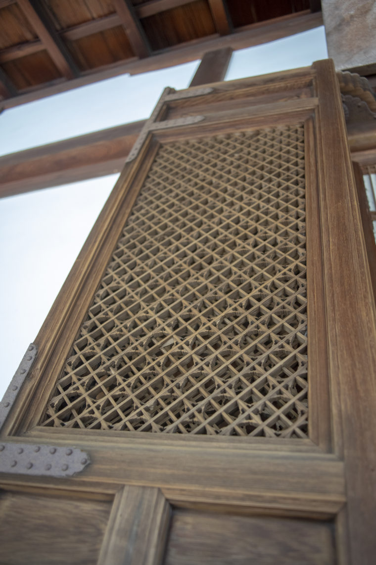 龍安寺の格子