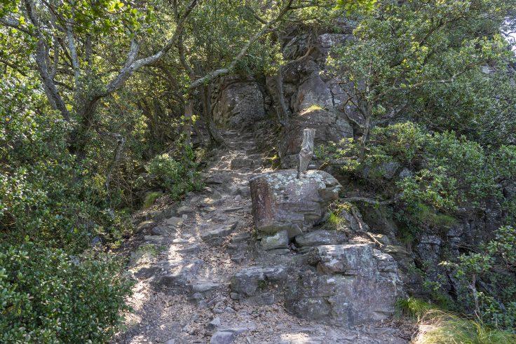長崎屋島北嶺線の岩