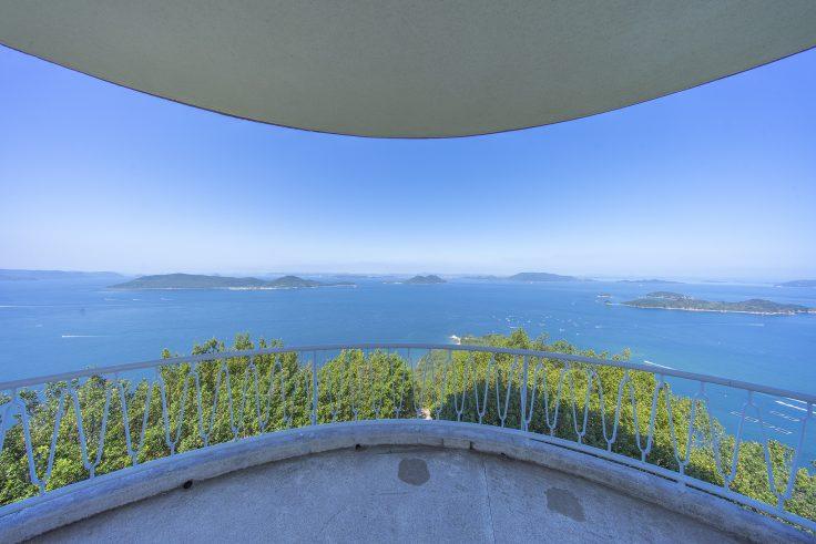 遊鶴亭から見た瀬戸内海3