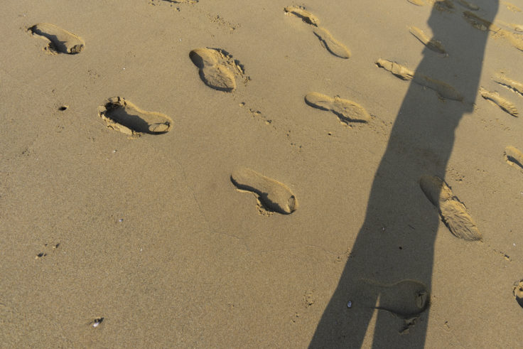父母ヶ浜の砂浜2