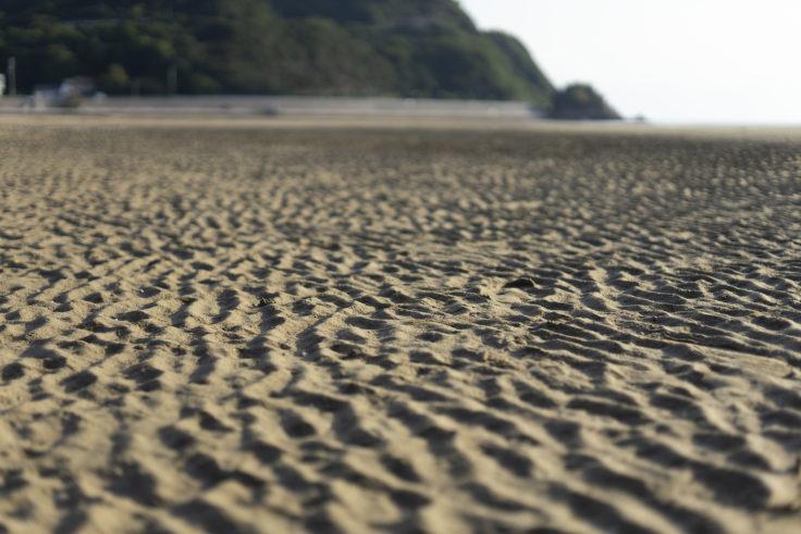 父母ヶ浜の砂浜5