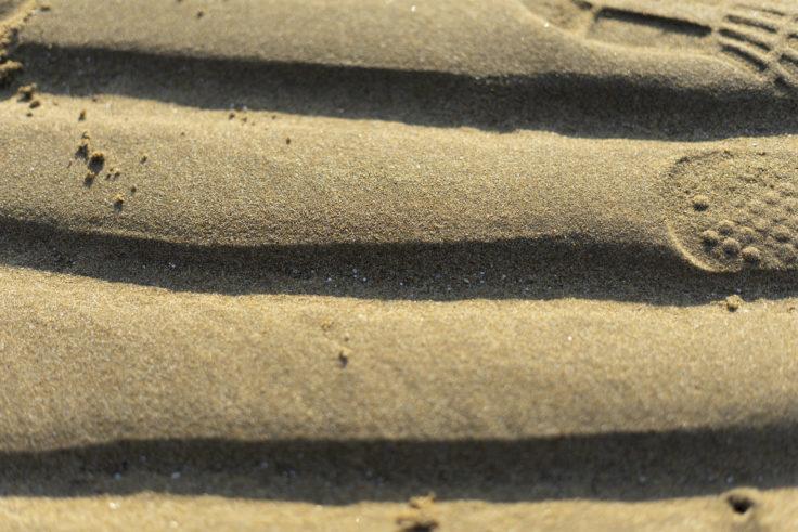 父母ヶ浜の砂浜6