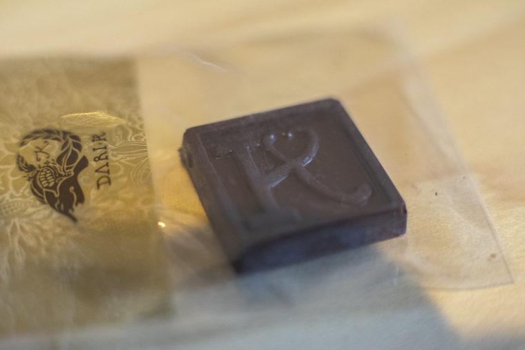 DARI・Kさんでいただいたお土産のチョコレート