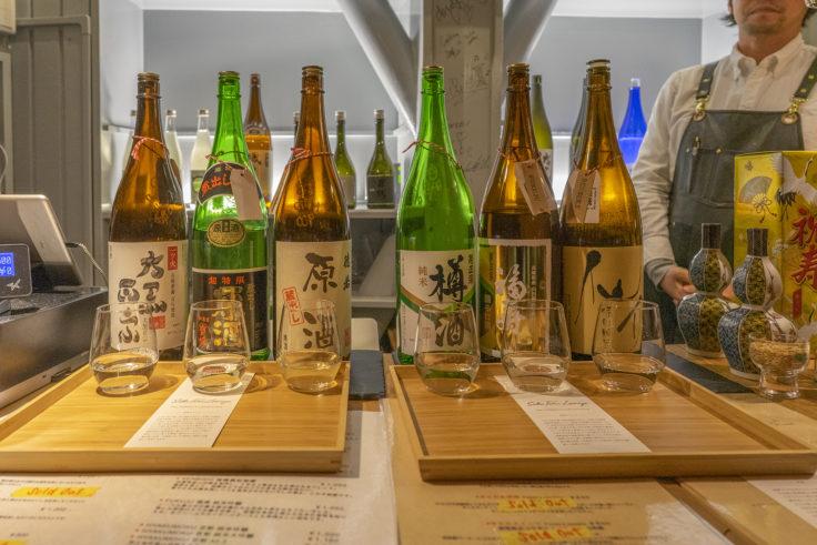 SAKE TARU LOUNGEの日本酒