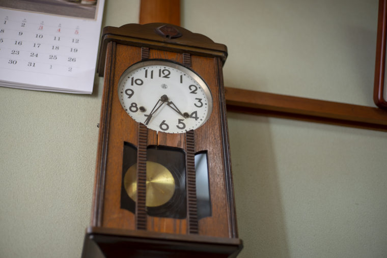 保乃家の時計