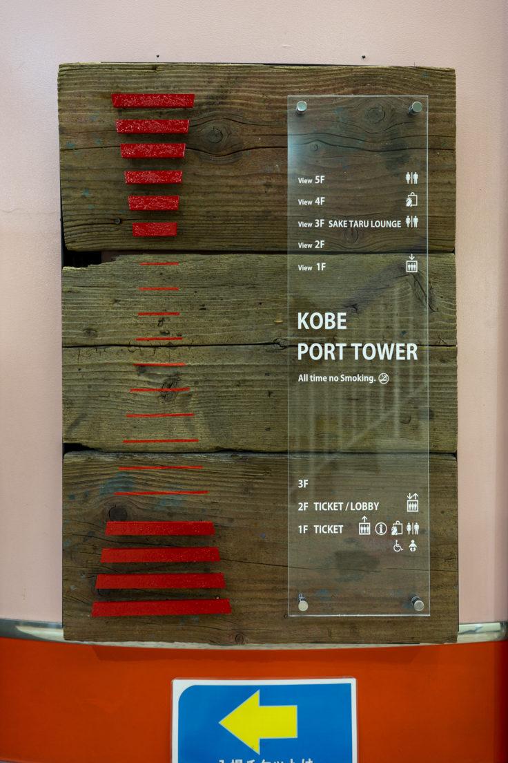 神戸ポートタワーフロア案内
