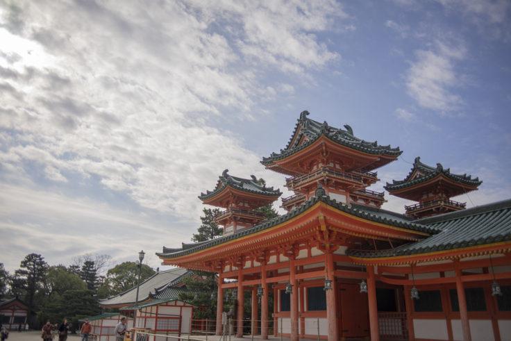 平安神宮神苑入り口