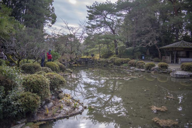 平安神宮神苑の池2