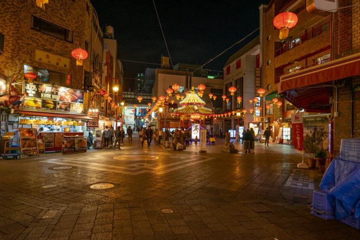 南京町広場遠景
