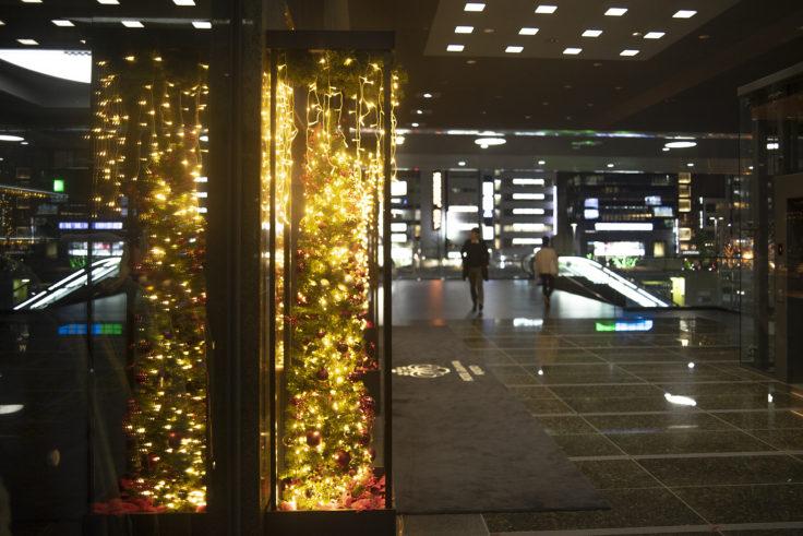 ホテルグランヴィア京都のクリスマスイルミネーション