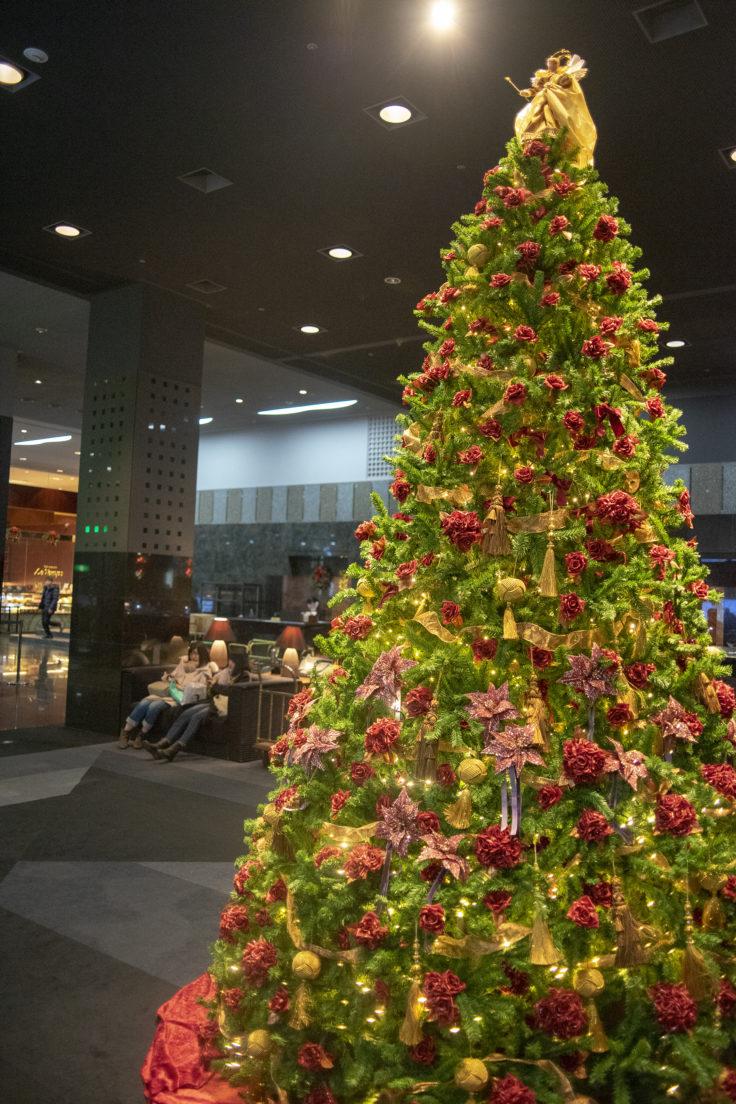 ホテルグランヴィア京都のクリスマスツリー