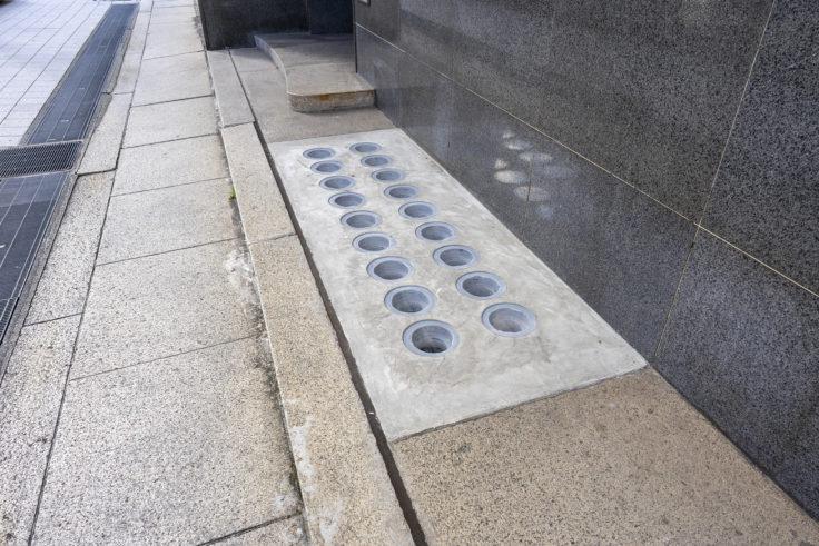 日本真珠会館の地下