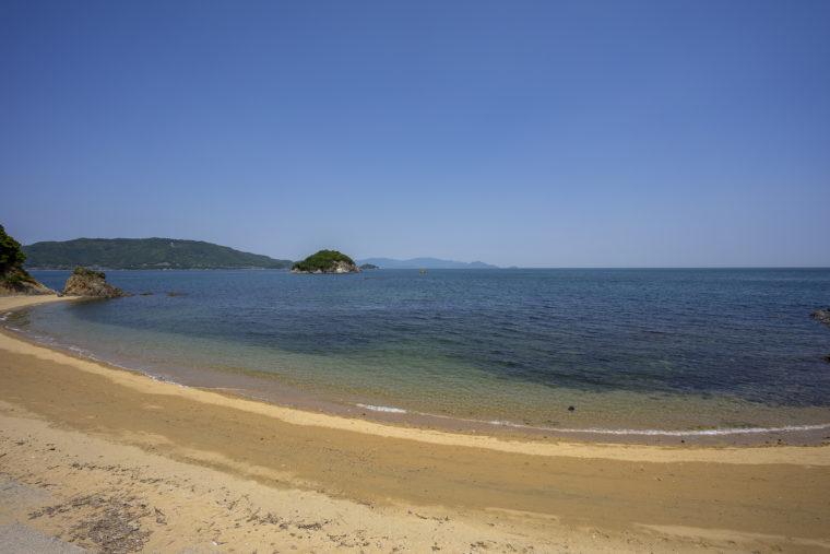 津羽の海岸
