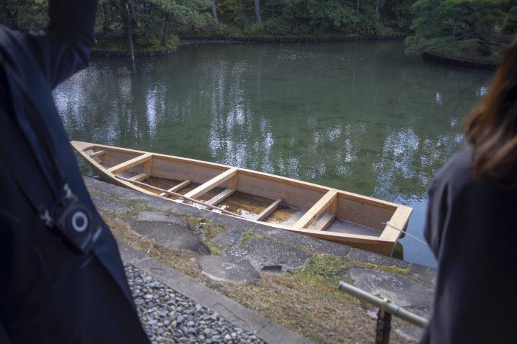 桂離宮の船