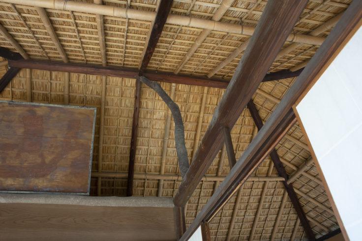 月波楼屋根
