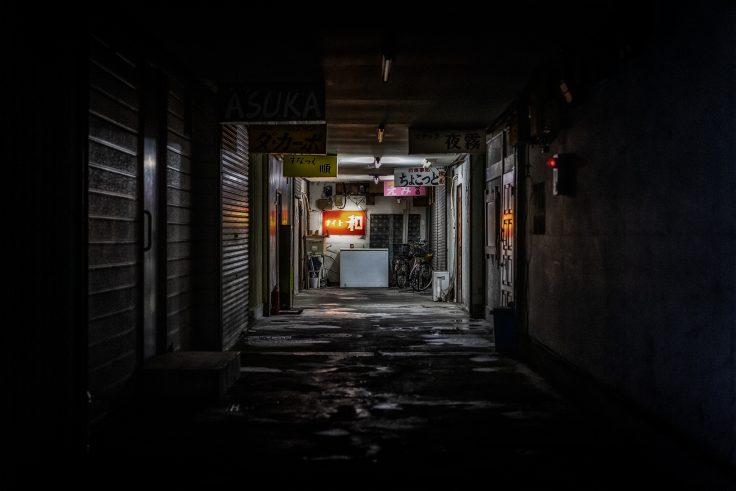 坂出市の夜